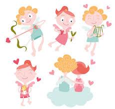 imagenes de amor con muñecos animados cupido amor dibujos animados dibujos animados del vector vector