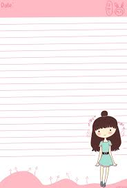 writing paper free 68 best papel de carta kawai images on pinterest paper writing created with sai free to use sample stationary print page