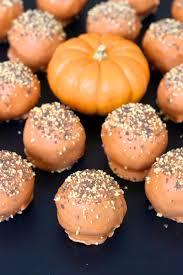 pumpkin spice cake balls the bakermama
