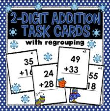 addition with regrouping strategies lucky little learners