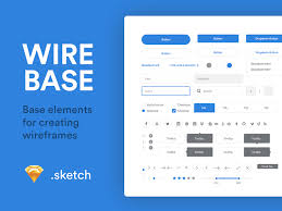 simple wireframe templates for sketch psddd co