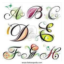 letter h tattoo designs 3
