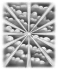 sun rays and clouds drawing clipartxtras