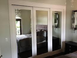 Mirror Bypass Closet Doors Mirror Closet Doors The Hinged Vs Sliding Wardrobe Doors Tips