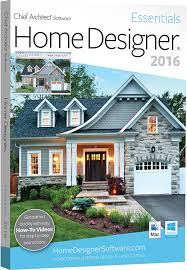 chief architect home designer essentials 2016 pc mac software