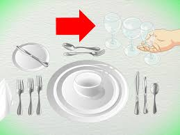 Formal Table Setting Diagram 4 Ways To Set Formal Silverware Wikihow