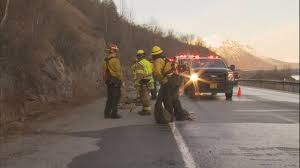 Alaska Wildfire Road Closures by Wildfire Temporarily Shuts Down Seward Highway