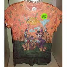 your wdw store disney womens halloween shirt light orange minnie
