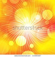 abstract background with orange sun rays sky sun warm line