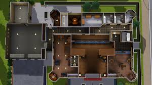 mod the sims old district police station