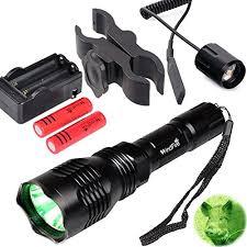 green hunting light reviews amazon com windfire wf802 waterproof 350 lumens 250 yards green