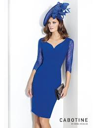 cabotine sale lace trimmed dress and jacket azul
