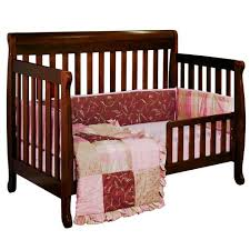 Convertible Sleigh Bed Crib Afg Furniture International 4 In 1 Sleigh Convertible Crib