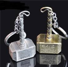 buy keychain hammer thor and get free shipping on aliexpress com