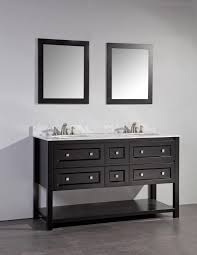 awesome bridgeport inch white double sink bathroom vanity