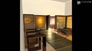 japanese tea house interior 3d model from creativecrash com youtube