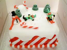 christmas cake the sad invention of snow angels by rebeckington