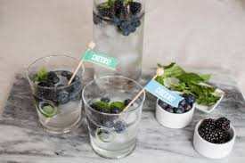 black and blue mint mojito recipe hgtv