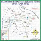 map-hanuman tibba