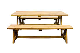 picnic table rentals collapsible oak white picnic table and bench pricing upon request