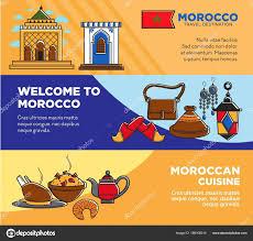 affiches cuisine bienvenue maroc les marocains cuisine affiches ensemble valeurs
