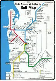 Melbourne Tram Map Historic Australian Rail Maps