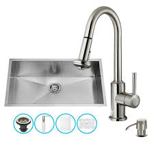 undermount kitchen sink with faucet holes sinks all in one sinks the best prices for kitchen bath and