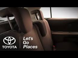 Toyota 60 40 Bench Seat 2011 Yaris How To 60 40 Split Fold Down Rear Seats Toyota Youtube
