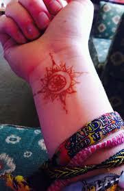 sun and moon henna tattoos henna tattoos