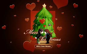 2013 merry christmas love cartoon hd images hd wallpapers