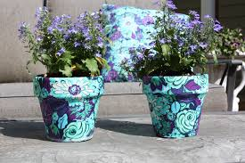 personalized flower pot craft your own custom flower pots