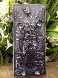 wars han carbonite crafted concrete garden ornament