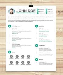 free creative resume template downloads resume example cool