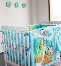 Baby Crib Bed Sets New Embroidered Animals Baby Crib Bedding Set For Boy Baby