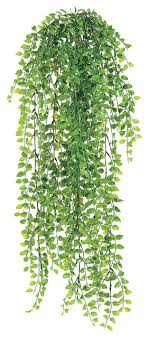 silk plants direct pea leaf hanging bush pack of 12 traditional