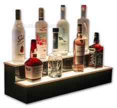 bar shelving for home u0026 commercial bars led lighted liquor shelves