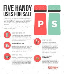 uses for salt the many uses of salt you might not know about