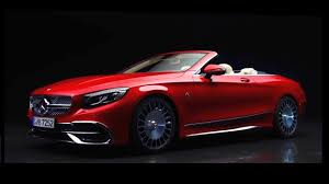 2018 mercedes maybach s 650 cabriolet trailer youtube