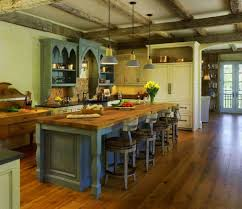 country kitchen designs with islands kitchen rustic country kitchen with coffered wood