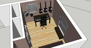 Bedroom Studio Setups Pictures Setting Up A Recording Studio Home Remodeling Inspirations