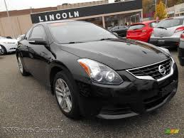altima nissan black 2011 nissan altima 2 5 s coupe in super black 109200