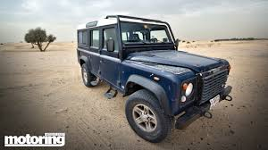 lexus v8 in defender land rover defendermotoring middle east car news reviews and