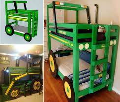 Bunk Bed For Boys Diy Tractor Bunk Bed For Boys