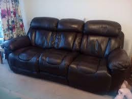 Electric Recliner Sofa Dfs Leather Recliner Sofas Brokeasshome Com
