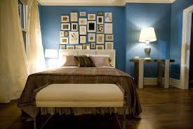 Light Blue Bedroom by Bedroom Inspiring Blue And Brown Bedroom Decoration Using Small