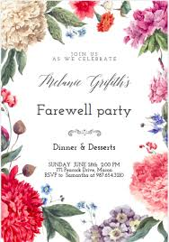 9 farewell invitation designs free u0026 premium templates
