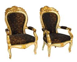 Antique French Armchairs Design History French Louis Xv Style
