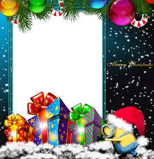 merry png minion photo frame gallery yopriceville