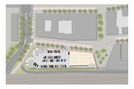 dutch parking garage receives lively unitized screen cladding