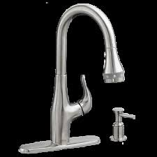 american standard olvera stainless steel 1 handle pull down